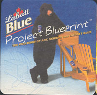 Beer coaster labatt-18