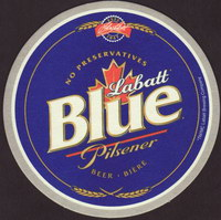 Beer coaster labatt-23-small