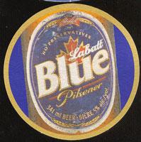 Beer coaster labatt-4-zadek
