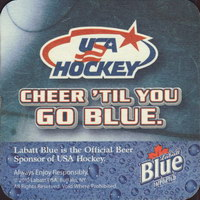 Beer coaster labatt-41-zadek-small