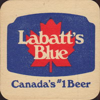 Beer coaster labatt-42-oboje-small