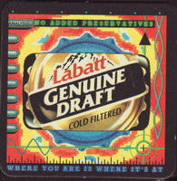 Beer coaster labatt-51-small