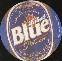 Beer coaster labatt-6-zadek