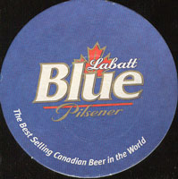 Beer coaster labatt-6