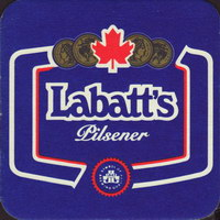 Beer coaster labatt-60-small