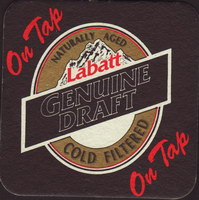 Beer coaster labatt-63-oboje-small