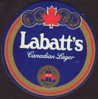 Pivní tácek labatt-79-oboje