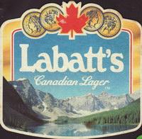 Pivní tácek labatt-84-oboje
