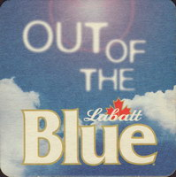 Beer coaster labatt-85