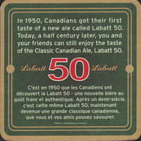 Beer coaster labatt-88-zadek-small