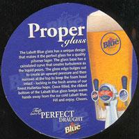 Beer coaster labatt-9-zadek