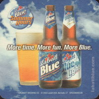 Beer coaster labatt-91-zadek-small
