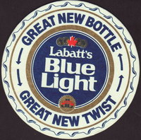 Beer coaster labatt-95