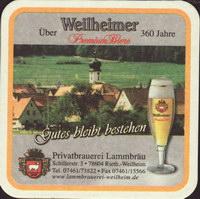 Beer coaster lammbrauerei-weilheim-1-zadek-small