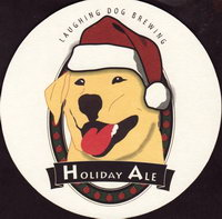 Beer coaster laughing-dog-1-small