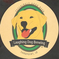 Beer coaster laughing-dog-2