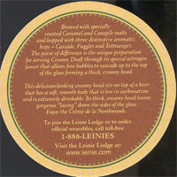 Pivní tácek leinenkugel-1-zadek