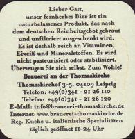 Pivní tácek leipziger-brauerei-an-der-thomaskirche-3-zadek-small