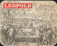 Pivní tácek leopold-1