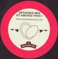 Pivní tácek les-3-brasseurs-25-zadek-small