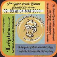 Pivní tácek les-amis-de-la-biere-1
