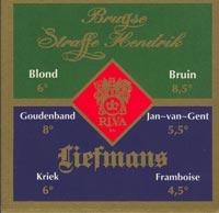 Beer coaster liefmans-1