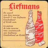 Pivní tácek liefmans-2-zadek