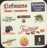 Beer coaster liefmans-26-zadek-small