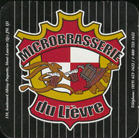 Beer coaster lievre-1