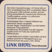 Beer coaster link-brau-12-zadek-small