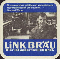 Beer coaster link-brau-2-zadek-small
