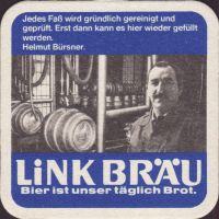 Beer coaster link-brau-8-zadek-small