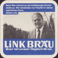 Beer coaster link-brau-9-zadek-small