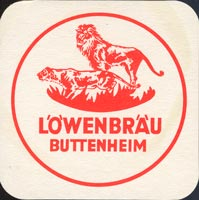 Beer coaster lowenbrau-buttenheim-1