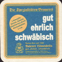 Beer coaster lowenbrauerei-aalen-1-small