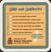 Beer coaster lowenbrauerei-aalen-1-zadek-small