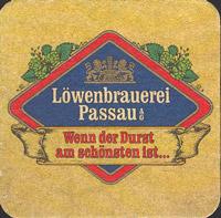 Beer coaster lowenbrauerei-passau-1