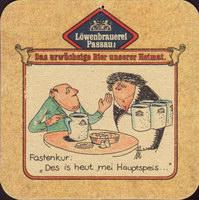 Beer coaster lowenbrauerei-passau-11-zadek-small