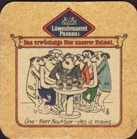 Beer coaster lowenbrauerei-passau-12-zadek-small