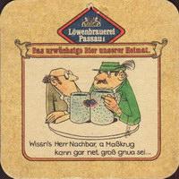 Beer coaster lowenbrauerei-passau-13-zadek-small