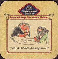Beer coaster lowenbrauerei-passau-16-zadek-small