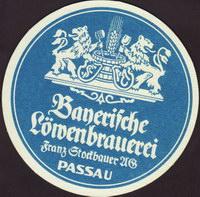 Beer coaster lowenbrauerei-passau-17-oboje-small