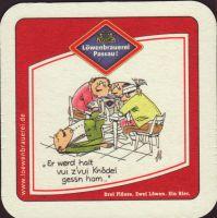 Beer coaster lowenbrauerei-passau-22-zadek-small