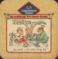 Beer coaster lowenbrauerei-passau-25-zadek-small