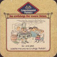 Beer coaster lowenbrauerei-passau-32-zadek-small