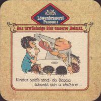 Beer coaster lowenbrauerei-passau-33-zadek-small