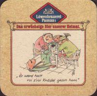 Beer coaster lowenbrauerei-passau-36-zadek-small