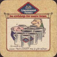 Beer coaster lowenbrauerei-passau-38-zadek-small
