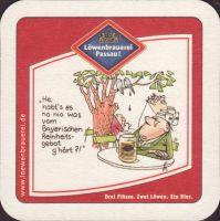 Beer coaster lowenbrauerei-passau-39-zadek-small
