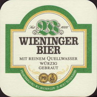 Beer coaster m-c-wieninger-14-small